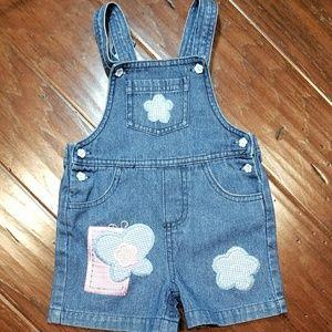 DENIM Baby girl overalls